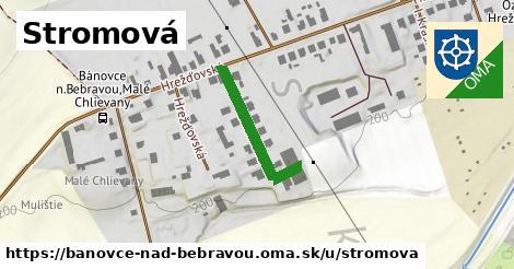 ilustračný obrázok k Stromová, Bánovce nad Bebravou