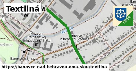 ilustrácia k Textilná, Bánovce nad Bebravou - 396m
