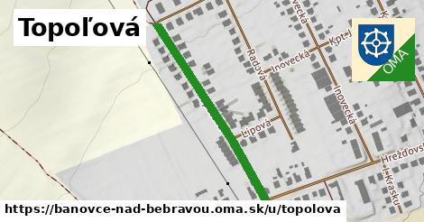 ilustrácia k Topoľová, Bánovce nad Bebravou - 366m