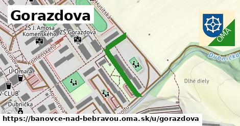 ilustrácia k Gorazdova, Bánovce nad Bebravou - 252m