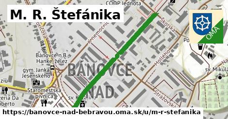 M. R. Štefánika, Bánovce nad Bebravou