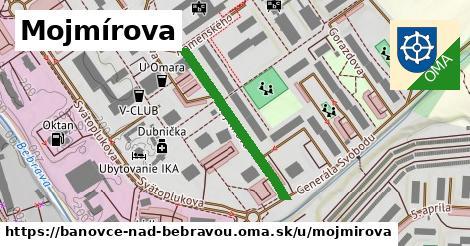 ilustrácia k Mojmírova, Bánovce nad Bebravou - 287m