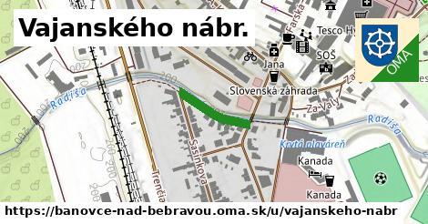 ilustračný obrázok k Vajanského nábr., Bánovce nad Bebravou