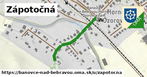 ilustrácia k Zápotočná, Bánovce nad Bebravou - 321m