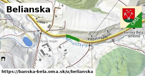 ilustrácia k Belianska, Banská Belá - 70m