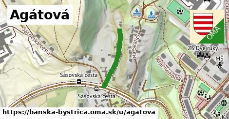 ilustrácia k Agátová, Banská Bystrica - 201m
