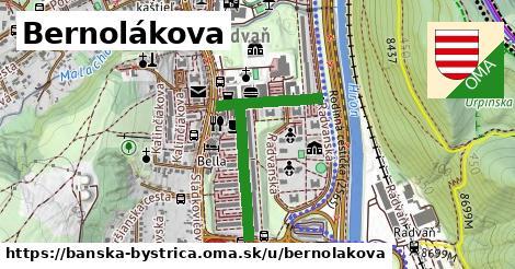 ilustrácia k Bernolákova, Banská Bystrica - 695m