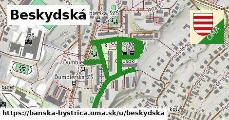 ilustrácia k Beskydská, Banská Bystrica - 529m