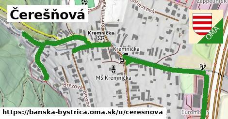 ilustrácia k Čerešňová, Banská Bystrica - 0,97km