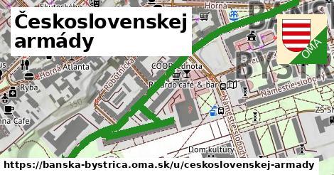 ilustračný obrázok k Československej armády, Banská Bystrica