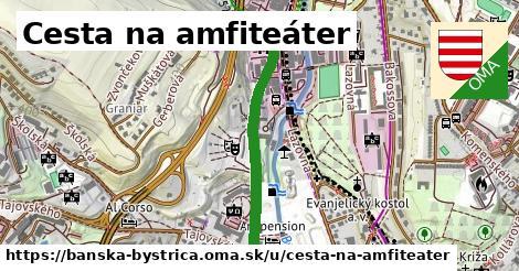 ilustračný obrázok k Cesta na amfiteáter, Banská Bystrica