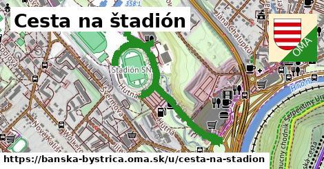 ilustračný obrázok k Cesta na štadión, Banská Bystrica