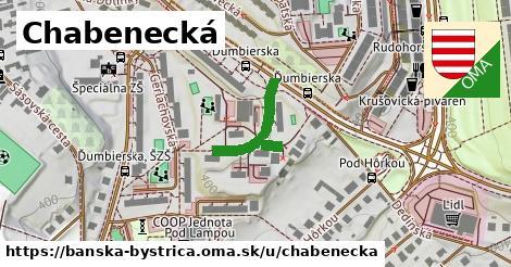 ilustračný obrázok k Chabenecká, Banská Bystrica