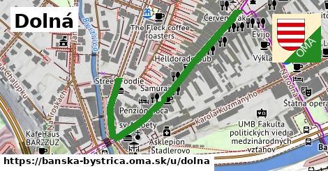 ilustrácia k Dolná, Banská Bystrica - 556m