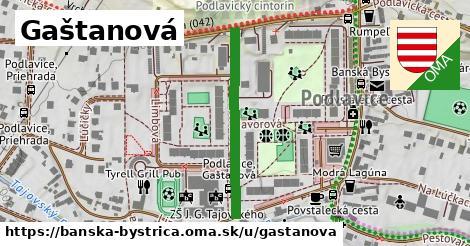 ilustrácia k Gaštanová, Banská Bystrica - 297m