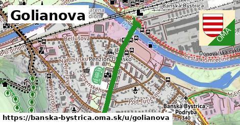 ilustračný obrázok k Golianova, Banská Bystrica