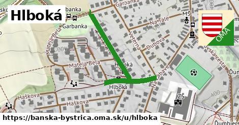 ilustračný obrázok k Hlboká, Banská Bystrica