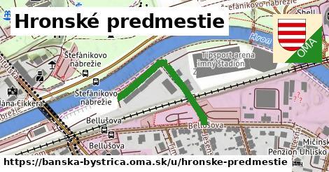 ilustračný obrázok k Hronské predmestie, Banská Bystrica