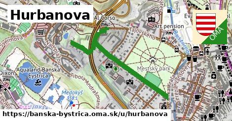 ilustračný obrázok k Hurbanova, Banská Bystrica