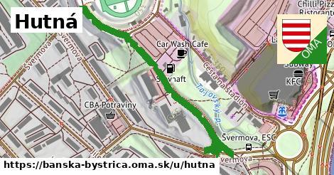 ilustračný obrázok k Hutná, Banská Bystrica