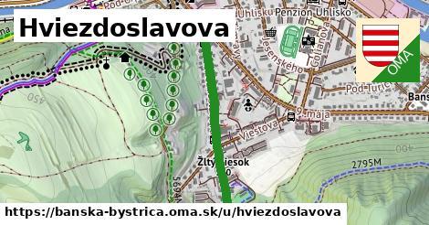 ilustrácia k Hviezdoslavova, Banská Bystrica - 627m