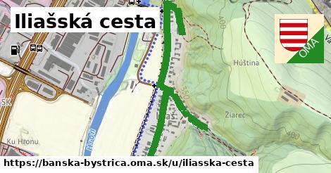 ilustračný obrázok k Iliašská cesta, Banská Bystrica
