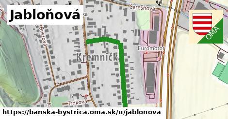 ilustračný obrázok k Jabloňová, Banská Bystrica
