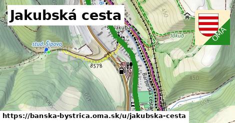 ilustrácia k Jakubská cesta, Banská Bystrica - 1,43km