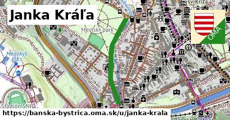 ilustračný obrázok k Janka Kráľa, Banská Bystrica