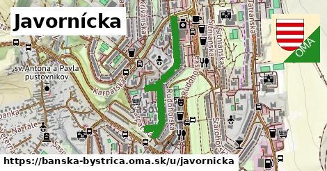 ilustračný obrázok k Javornícka, Banská Bystrica