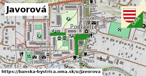 ilustračný obrázok k Javorová, Banská Bystrica
