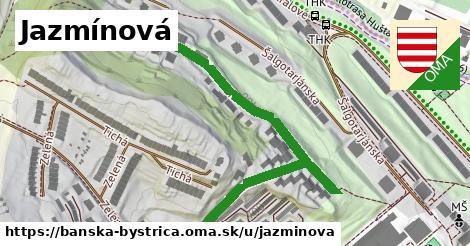 ilustračný obrázok k Jazmínová, Banská Bystrica