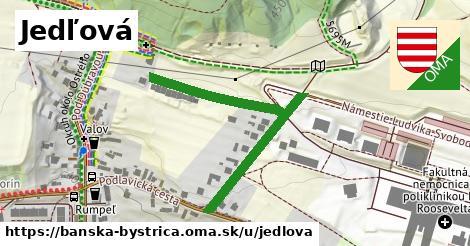 ilustrácia k Jedľová, Banská Bystrica - 460m