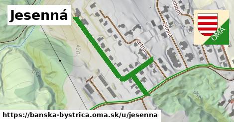 ilustrácia k Jesenná, Banská Bystrica - 453m