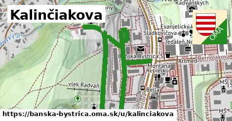 ilustračný obrázok k Kalinčiakova, Banská Bystrica