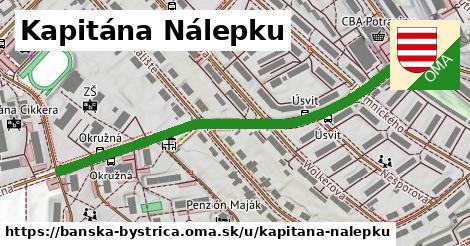 ilustrácia k Kapitána Nálepku, Banská Bystrica - 601m