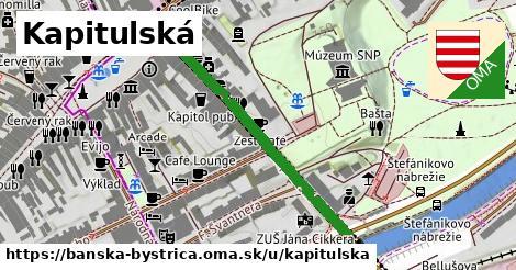 ilustrácia k Kapitulská, Banská Bystrica - 381m