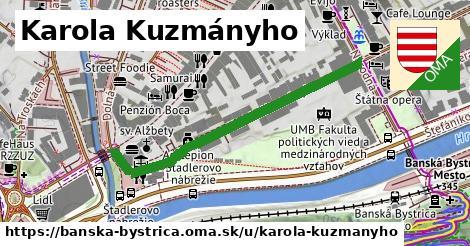 ilustrácia k Karola Kuzmányho, Banská Bystrica - 452m
