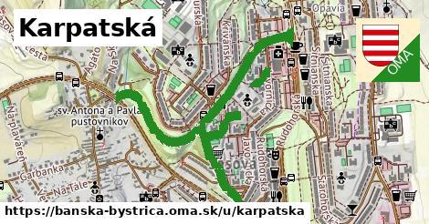 ilustračný obrázok k Karpatská, Banská Bystrica