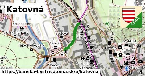 ilustračný obrázok k Katovná, Banská Bystrica