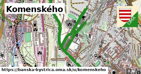 ilustrácia k Komenského, Banská Bystrica - 1,71km