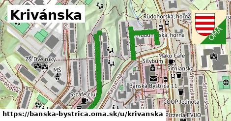 ilustračný obrázok k Krivánska, Banská Bystrica