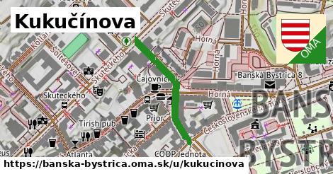 ilustrácia k Kukučínova, Banská Bystrica - 275m