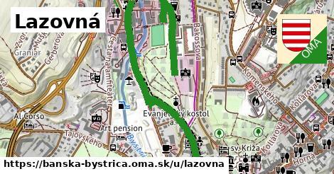 ilustračný obrázok k Lazovná, Banská Bystrica