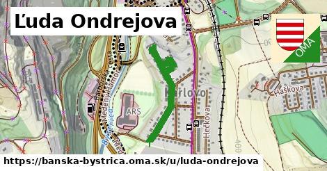 ilustračný obrázok k Ľuda Ondrejova, Banská Bystrica