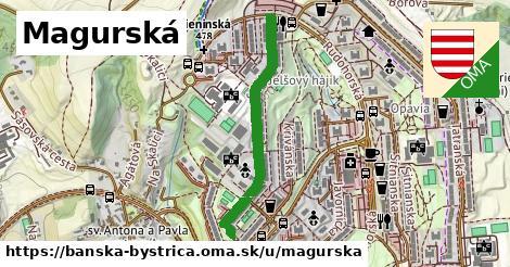 ilustračný obrázok k Magurská, Banská Bystrica
