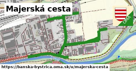 ilustračný obrázok k Majerská cesta, Banská Bystrica