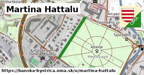 ilustračný obrázok k Martina Hattalu, Banská Bystrica