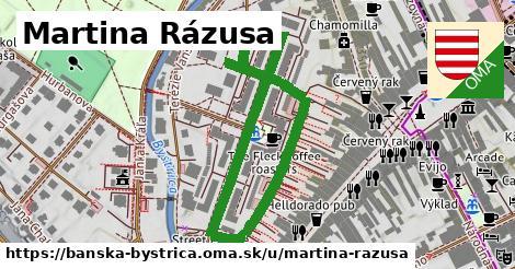 ilustračný obrázok k Martina Rázusa, Banská Bystrica