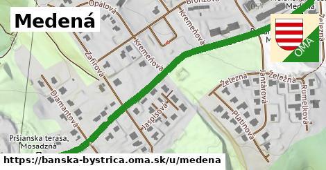 ilustračný obrázok k Medená, Banská Bystrica